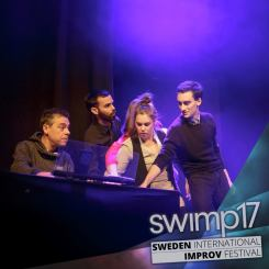 MD-ing a non-spoken instructor show @ SWIMP17 (Sweden)