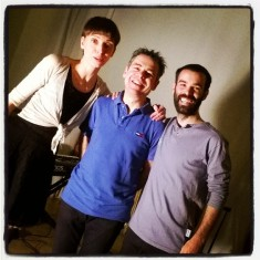 Post show pic after a duo performance with Dona Iuliana Ursu & Fena Ortalli, Brussels, 2015