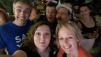 Selfie @ FIIF 2016 (Tampere, Finland) ft Franck Buzz, Pauline Vernier, Laure Doorneweert & Mico Pugliaress