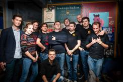 """Cast of """"Too Lazy & Not Famous Enough"""" (NFX & The Lunatics) @ GIF, Ghent 2016"""