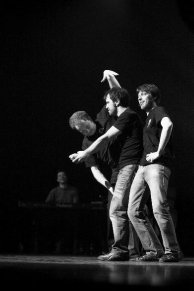 Performing with The Lunatics, Leuven 2011