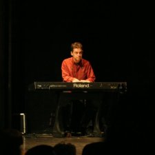 Performing with NFX and The Lunatics, Antwerp 2009