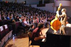 Performing at VIC2011 (Vlaamse Impro Cup), Leuven 2011