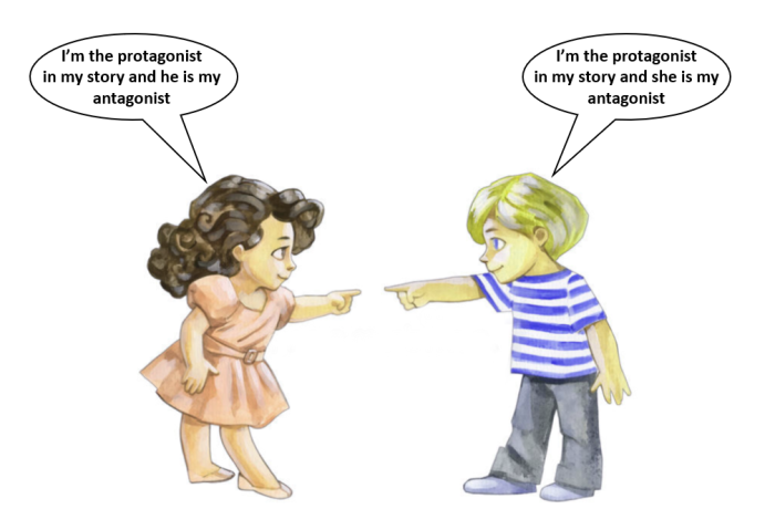 Antagonist & protagonists